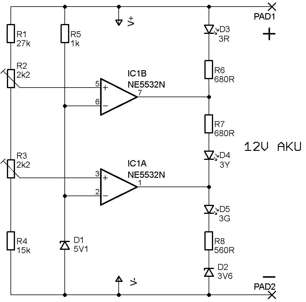 battery tester circuit